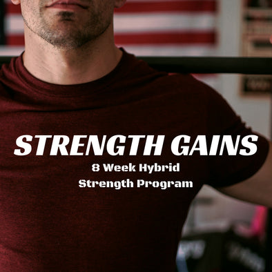 Strength Gains - 8 Week Hybrid Strength Program - Killer Fit Gear