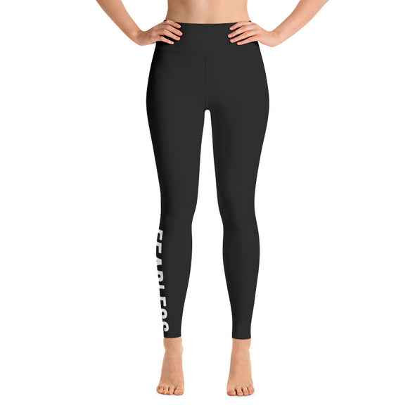 Fearless High Waisted Leggings - Killer Fit Gear