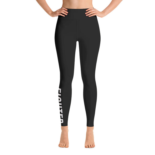 Fighter High Waisted Leggings - Killer Fit Gear