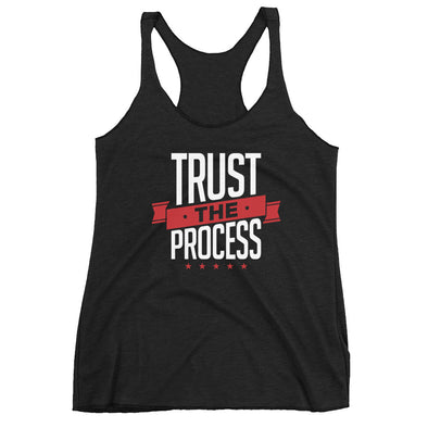 Trust The Process Women's Racerback Tank - Killer Fit Gear