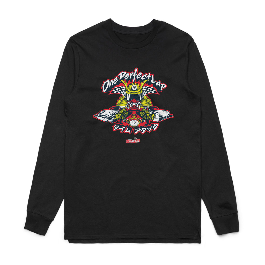 Graphic Long Sleeve (Red/Yellow)