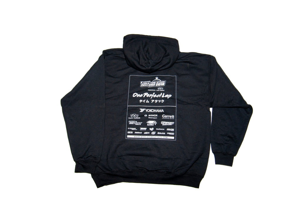 Graphic One Perfect Lap Hoodie (Red/Blue)