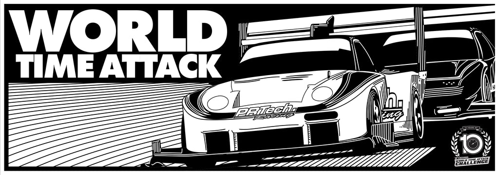WTAC Vintage 2019 Sticker Rectangle