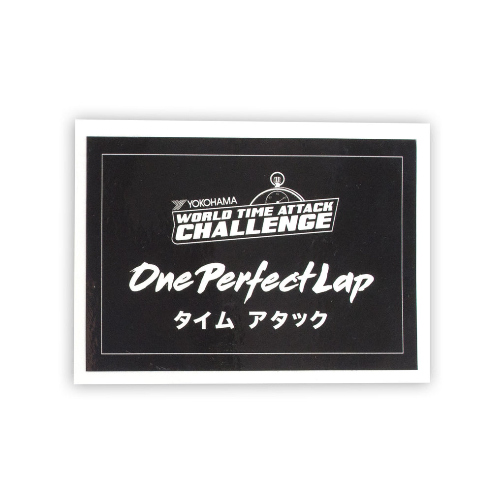 World Time Attack Challenge Sticker