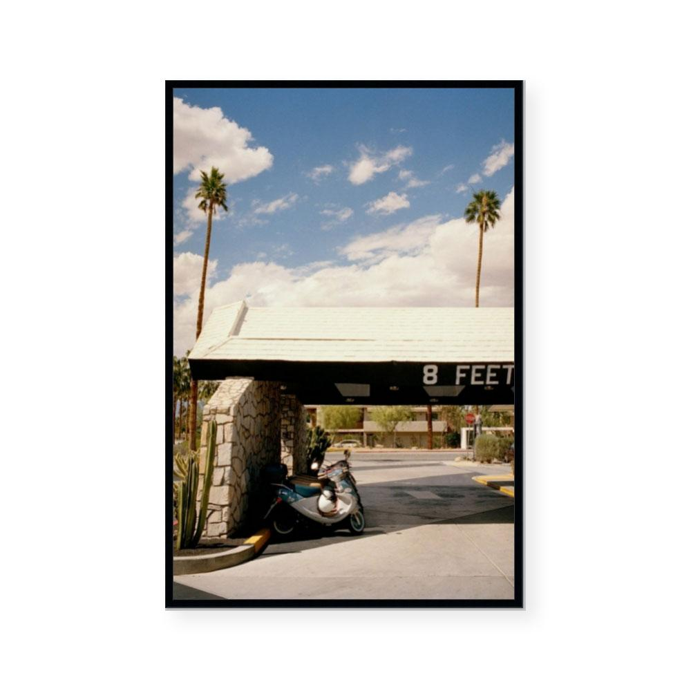 8 Feet, Palm Springs | Limited Edition Art Print | Brett Goldsmith