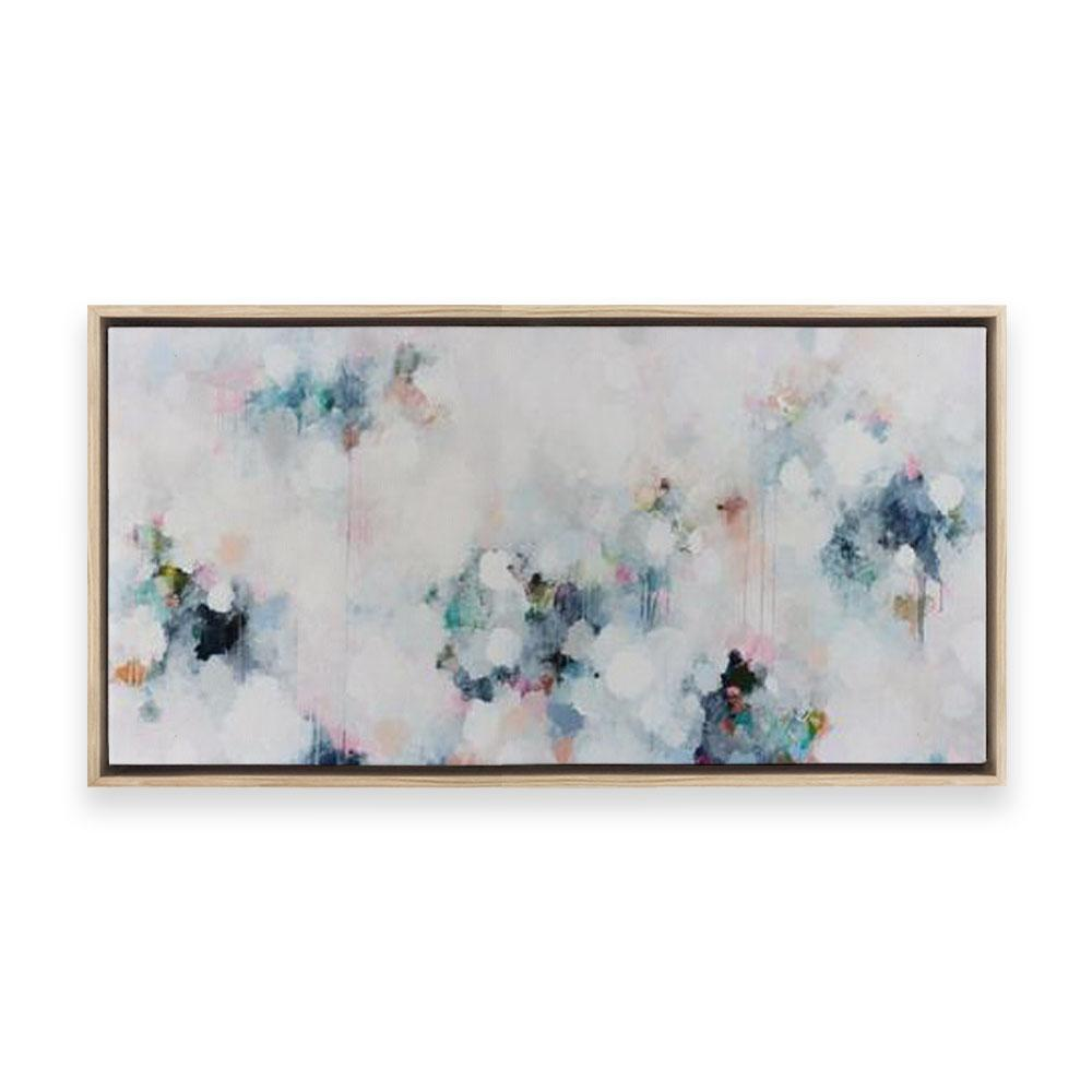Aqua Nebula #2 | Limited Edition Print on Canvas | Jessie Rigby