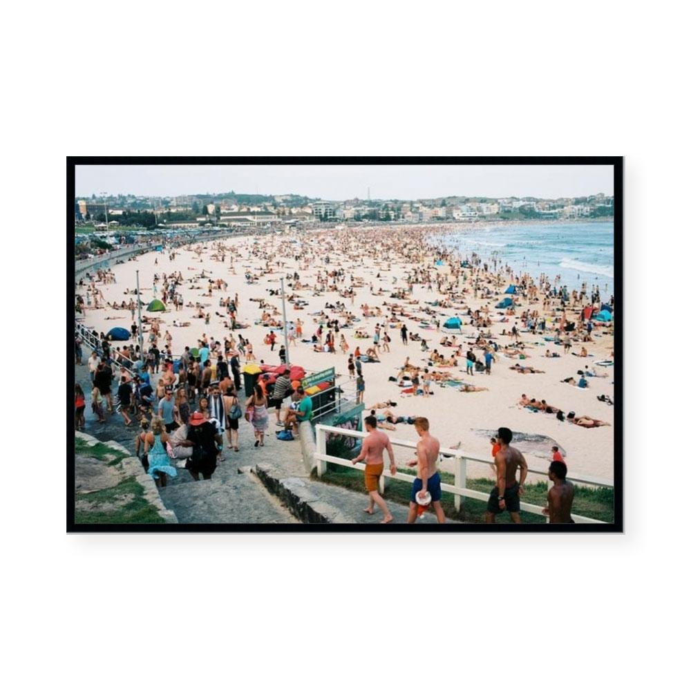 Down the Beach | Limited Edition Art Print | Brett Goldsmith
