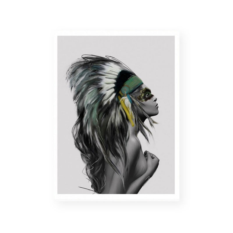 Headdress | Fine Art Print | Linn Wold