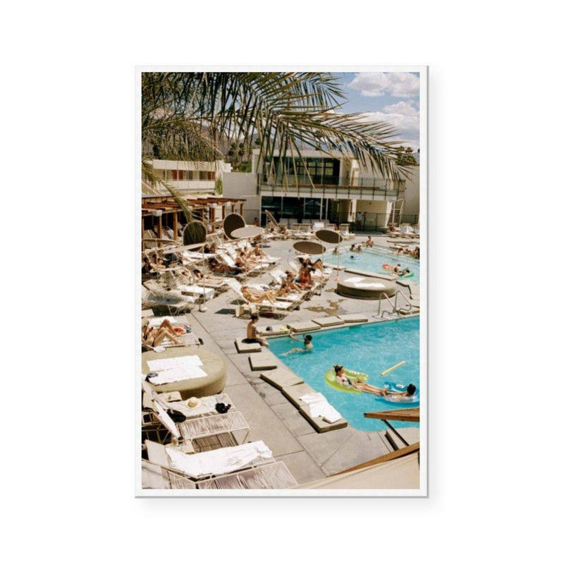 Palm Springs Pool | Limited Edition Art Print | Brett Goldsmith