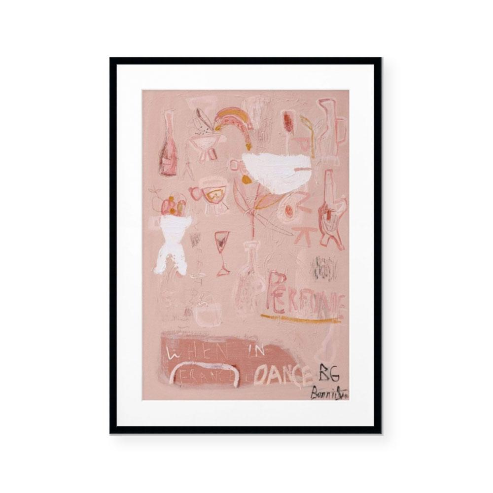 Pink Perfume | Limited Edition Art Print | Bonnie Gray