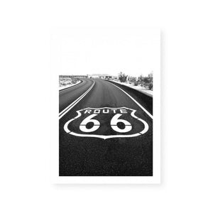 Signs for Route 66
