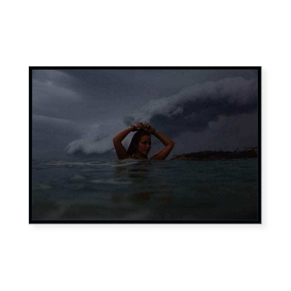 Storm Swimmer | Limited Edition Art Print | Paul Blackmore