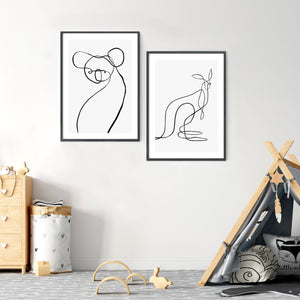 Koala for WIRES | Fine Art Print | Peytil