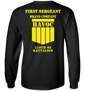 First Sergeant Long Sleeve T-Shirt