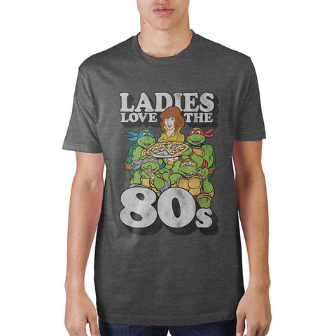 Teenage Mutant Ninja Turtles Ladies Love The 80's Men's T-Shirt