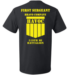 First Sergeant Short Sleeve T-Shirt