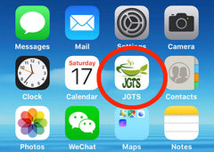 JGTS on Home Screen 5