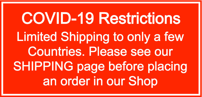 COVID-19 Shipping Restrictions