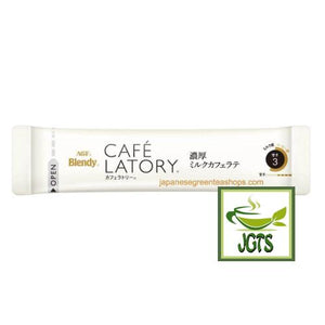 (AGF) Blendy Cafe Latory Milk Cafe Latte 8 Sticks (80 grams) one stick brewed in cup