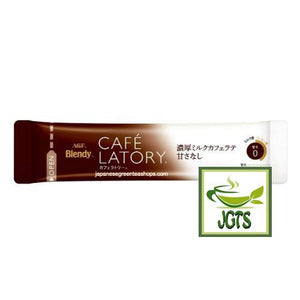 (AGF) Blendy Cafe Latory Milk (Non-Sweet) Cafe Latte Stick