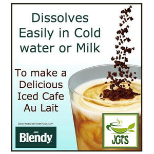 (AGF) Blendy Cafe Latory Rich Bitter Cafe Latte 2 Sticks (18 grams) Easily Dissolves in milk or water