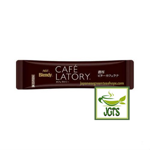 (AGF) Blendy Cafe Latory Rich Bitter Cafe Latte 2 Sticks (18 grams) One Individually wrapped Stick