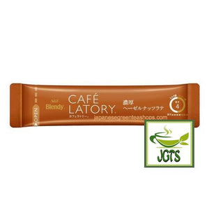 (AGF) Blendy Cafe Latory Rich Hazelnut Latte 7 Sticks (70 grams) One Stick