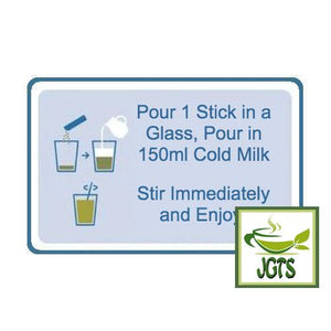 (AGF) Blendy Cold Milk Creamy Matcha Ole 6 Sticks (54 grams) How to make Iced Matcha Ole
