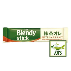 (AGF) Blendy Matcha Au Lait 6 Sticks (60 grams) One individually wrapped stick