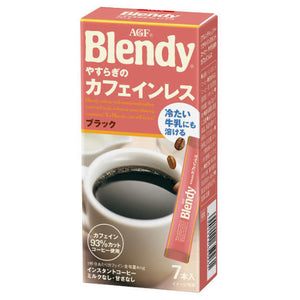 (AGF) Blendy Personal Instant Coffee Relaxing Caffeine-less 7 Sticks (14 grams)