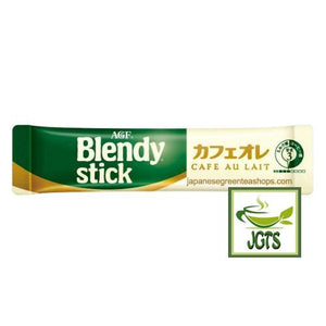 (AGF) Blendy Stick Cafe Au Lait (Original) Instant Coffee 8 Sticks (84 grams) One individually wrapped Stick