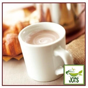 (AGF) Blendy Stick Cafe Au Lait (Otonna) Instant Coffee 30 Sticks (270 grams) one stick brewed in mug
