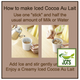 (AGF) Blendy Stick Cocoa Au Lait Instant Cocoa 21 Sticks (231 grams) Sticks How to make Iced Cocoa Au Lait