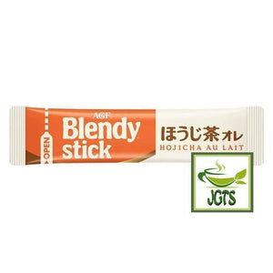 (AGF) Blendy Stick Houjicha Cafe Au Lait Instant Tea 2 Sticks (20 grams) One individually wrapped stick