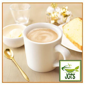 (AGF) Blendy Stick Melted Milk Cafe Au Lait Instant Coffee 8 Sticks (80 grams) One stick brewed in mug