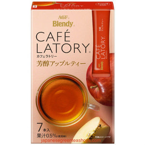 (AGF) Blendy Cafe Latory Apple Tea 7 Sticks (45.5 grams)