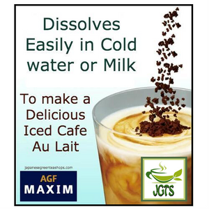 (AGF) Maxim Aroma Select Blend Instant Coffee 30 Sticks (60 grams) Easily Dissolves in milk or water