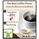 (AGF) Maxim Black In Box Roast Assortment Instant Coffee 20 Sticks (40 grams) Freeze Dried