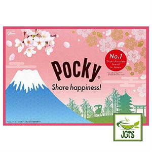 Glico Pocky Sakura Matcha 9 bags (114.3 grams) Share Happiness with Pocky