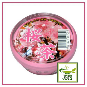Gyokuroen Sakura Tea (40 grams) Packaged in a plastic dish