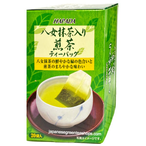 Harada Yame Matcha Green Tea Bags (40 grams)