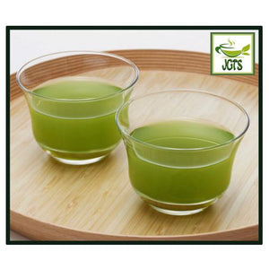 ITO EN Oi Ocha Sarasara Matcha Green Tea (80 grams) Brewed Color in Cup