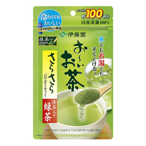 ITO EN Oi Ocha Sarasara Green Tea with Matcha (80 grams)