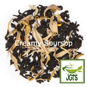 JAFTEA Black Tea Fruit Melody (75 grams) Creamy Soursop