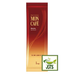 Kataoka Drip Coffee Mon Cafe Mocha Blend (10 Pack) Ground Coffee (80 grams) One individually wrapped drip coffee stick