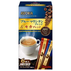 Kataoka ASTORIA Blue Mountain & Mocha Blend Instant Coffee 6 Sticks (65.1 grams)