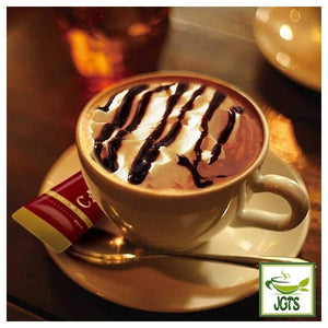 Key Coffee Cafe Mocha Luxury Tailoring Instant Coffee 8 Sticks (62.4 grams) One stick brewed in cup