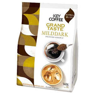 Key Coffee Grand Taste Mild Dark Instant Coffee (140 grams)