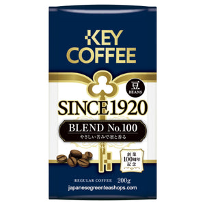 Key Coffee Since 1920, BLEND No.100 Coffee Beans (200 grams)