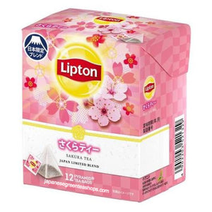 Lipton Sakura Tea Japan Limited Blend 12 Bags (19.2 grams)